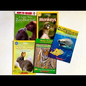 Lightly Used: Animal Book 5-pack